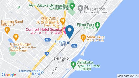 SHIROKO STORIA HOTEL Map