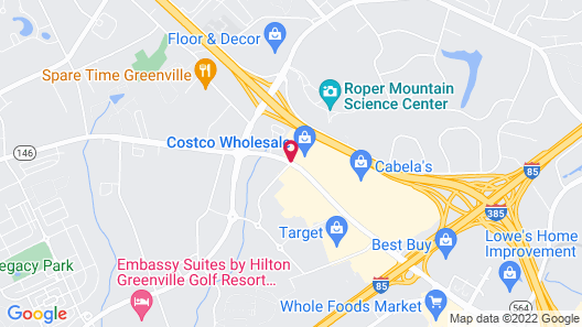 Microtel Inn & Suites by Wyndham Greenville / Woodruff Rd Map