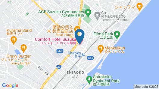 Comfort Hotel Suzuka Map
