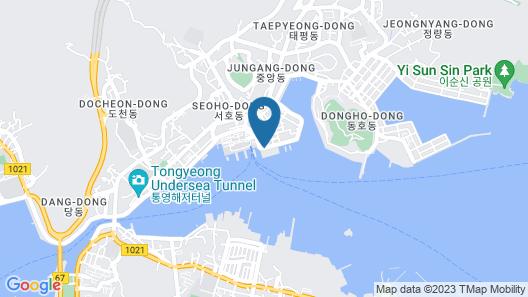 Hansan Hotel Map