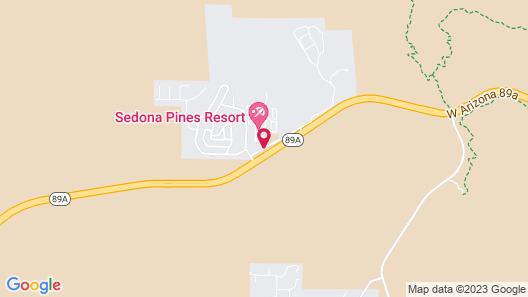 Sedona Pines Resort Map