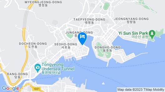 Brown-Dot Tongyeong Map