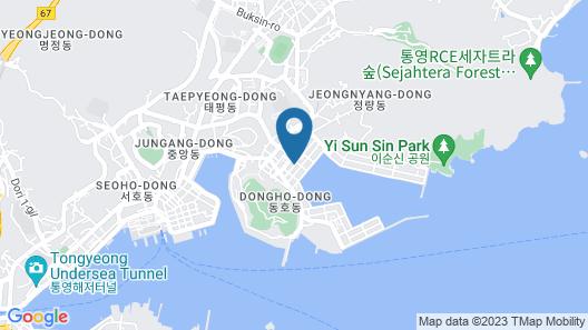 Hotel Pier 48 Map