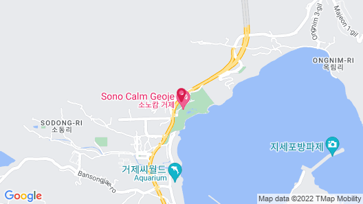Sono Calm Geoje (formerly Daemyung Resort Geoje Marina) Map