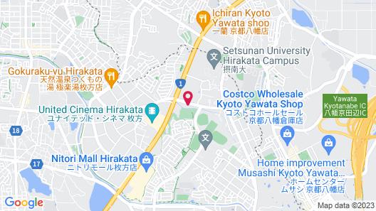 Family Lodge Hatagoya Osaka Hirakata Map