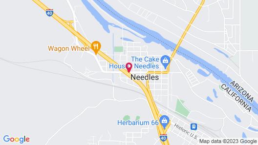 Desert Mirage Inn & Suites Map