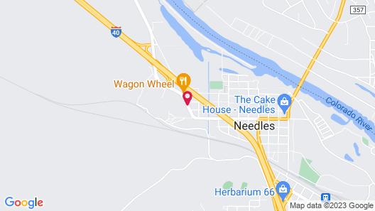 Best Western Colorado River Inn Map