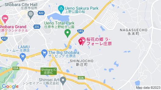 Kanponosato Shobara Map