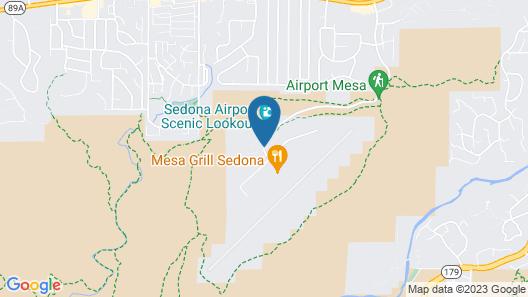 Sky Ranch Lodge Map