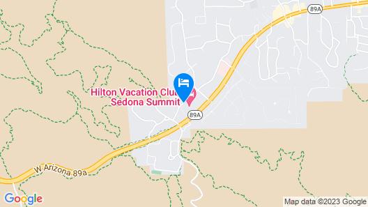 Sedona Summit Resort by Diamond Resorts Map