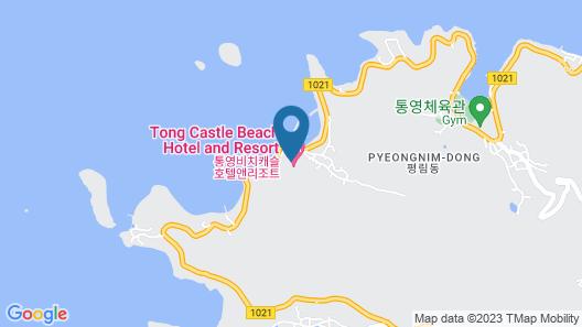 Beach castle hotel & resort Map