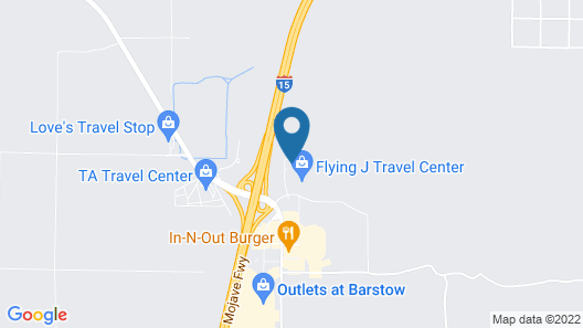 Comfort Suites Barstow near I-15 Map