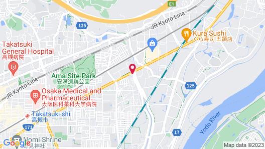 Hotel AVANCER Osaka Takatsuki-Adult Only Map