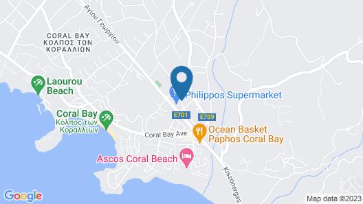 Coral Bay Sunlove Villa Map