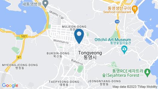 Min Guest House - Hostel Map