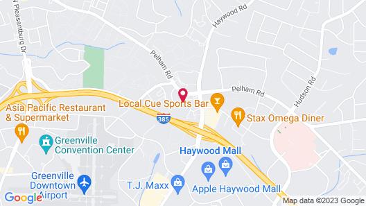 La Quinta Inn & Suites by Wyndham Greenville Haywood Map
