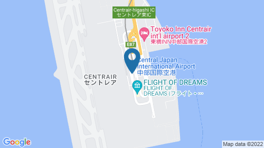 Centrair Hotel Map