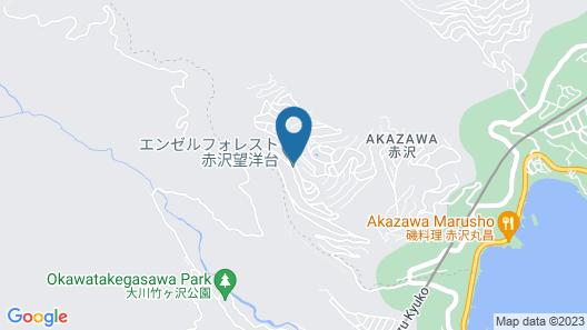 Angel Forest Izu Kogen (Akazawa Boyodai) Map
