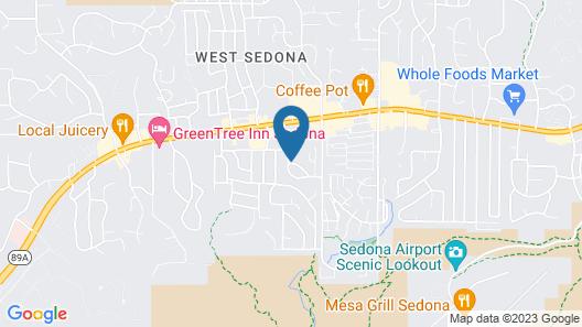 Club Wyndham Sedona Map