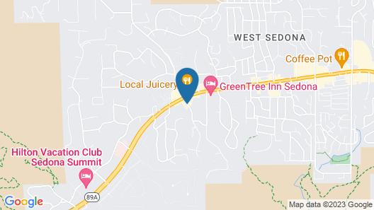 Sedona Real Inn & Suites Map