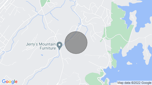 NEW! Serene Cabin Getaway with 2 Decks + Mtn Views Map