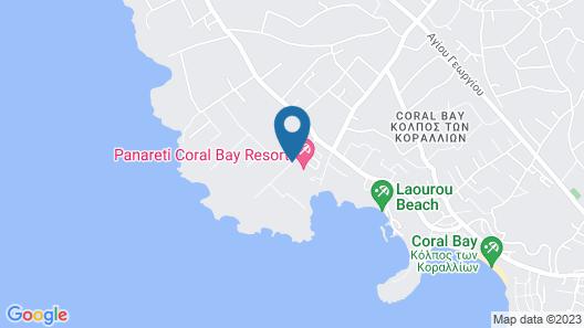 Panareti Coral Bay Hotel Map