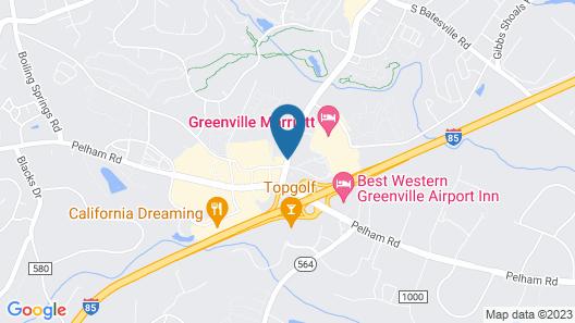 Courtyard Greenville-Spartanburg by Marriott Map