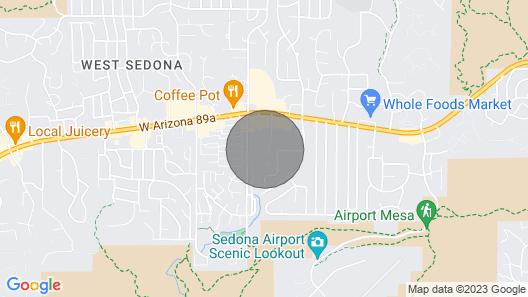 Lodge At Sedona Map