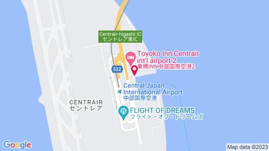 Four Points by Sheraton Nagoya, Chubu International Airport Map