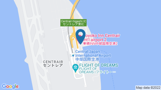 Toyoko Inn Chubu International Airport No.2 Map