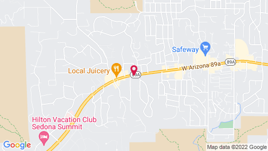 GreenTree Inn Sedona Map