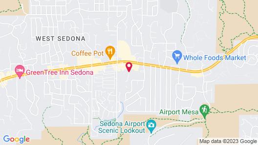Villas of Sedona, a VRI resort Map