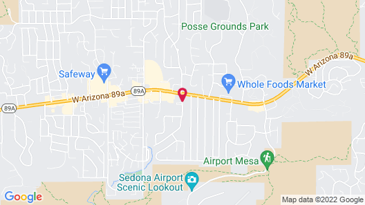 Sedona Springs Resort, a VRI resort Map
