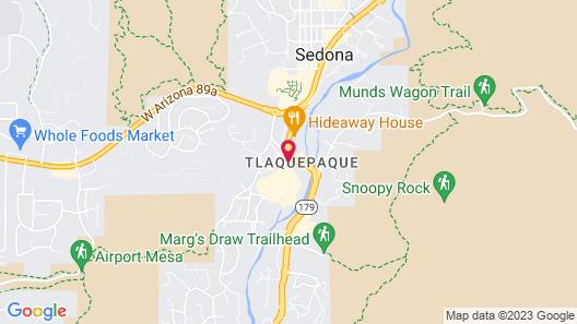 Los Abrigados Resort And Spa by Diamond Resorts Map