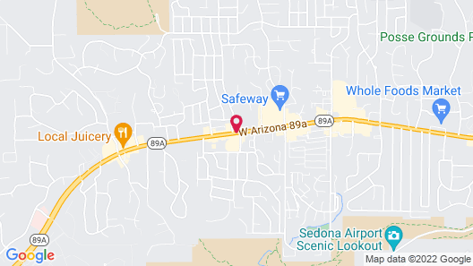 Andante Inn of Sedona Map