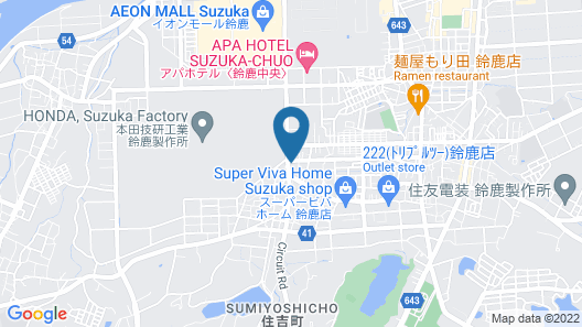 Suzuka Royal Hotel Map