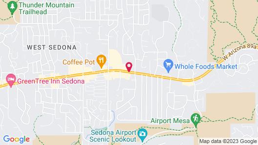 Hampton Inn Sedona Map