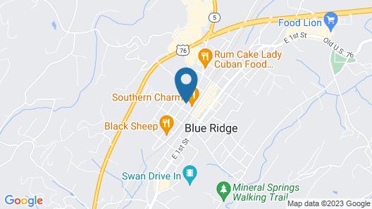 Blue Ridge Inn Bed & Breakfast Map