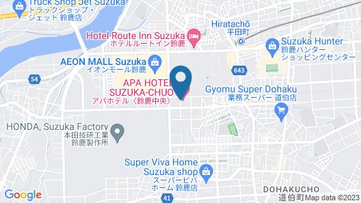 APA Hotel Suzuka Chuou Map