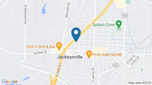 Jacksonville Inn Map