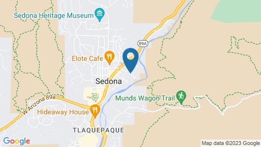 Arroyo Roble Resort Map