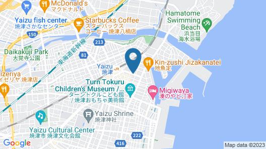 Hotel Sealuck Pal Yaizu Map