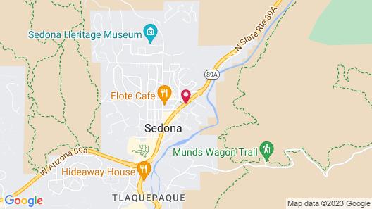 Best Western Plus Arroyo Roble Hotel & Creekside Villas Map