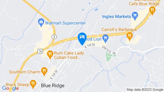 Douglas Inn & Suites Map