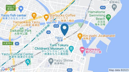 Kuretake Inn Yaizu-ekimae Map