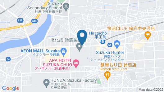 Hotel Route-Inn Suzuka Map
