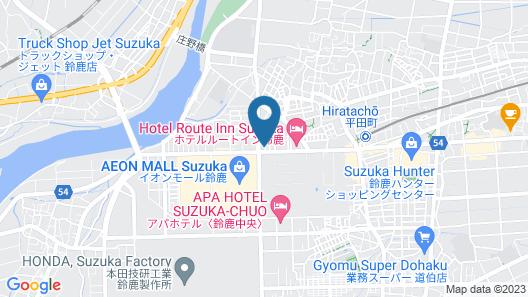 Ryokan Isuzu Map