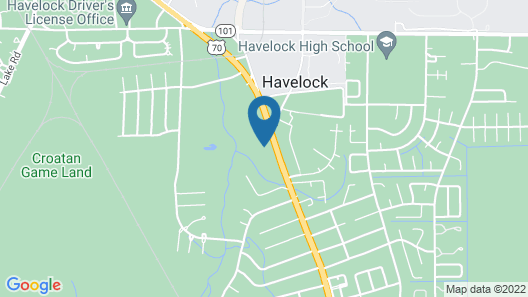Havelock Inn & Suites Map