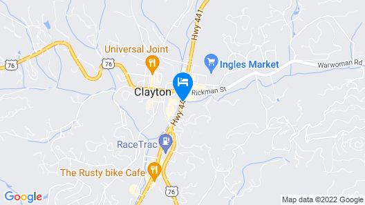 Days Inn by Wyndham Clayton Map