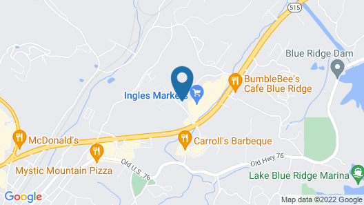 Reid Ridge Lodge Map